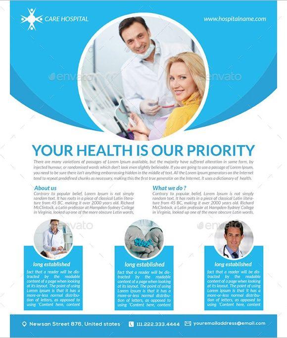 Medical Flyer Templates Kesehatan