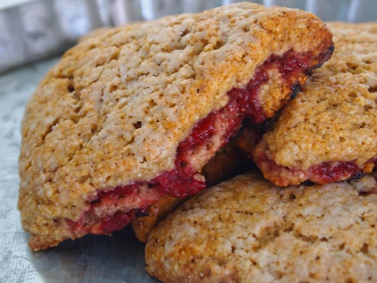 Strawberry Barley Scones Whole Grain Barley Flour Makes For A Nutritional Boost