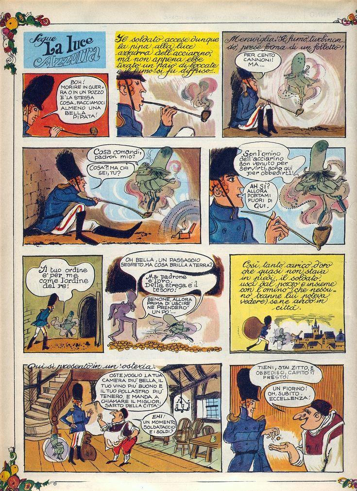 La luce azzurra 03 Tratto dal nº 1 del 5 gennaio 1969 del Corriere dei Piccoli