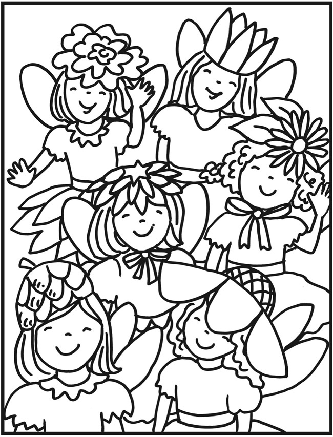 83 Best Fairy Coloring Pages Images On Pinterest