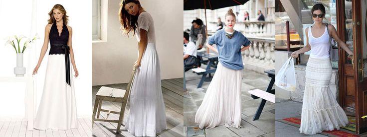 Юбки для беременных и кормящих женщин - необходимый элемент в жизни любой модницы