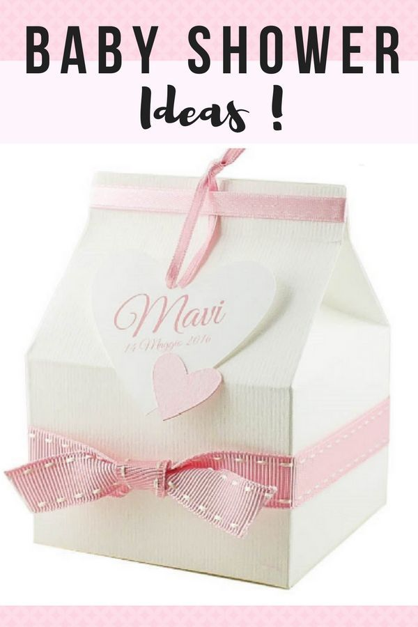 Super Cute Baby Shower Ideas, Discover These Handcrafted Baptism Or Baby  Shower Favor Boxes.