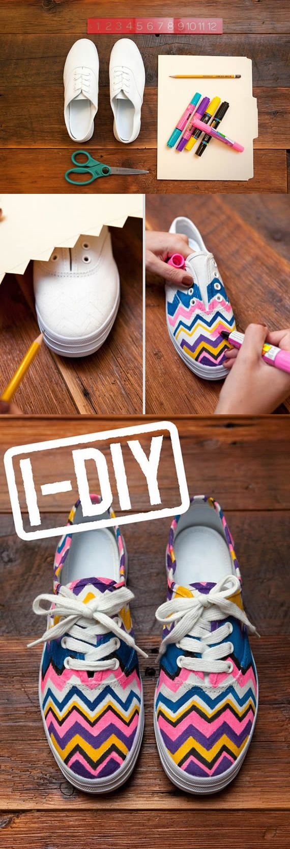 Transform old shoes into new ones with just a few supplies. Walgreens.com is making crafting easy and fun!