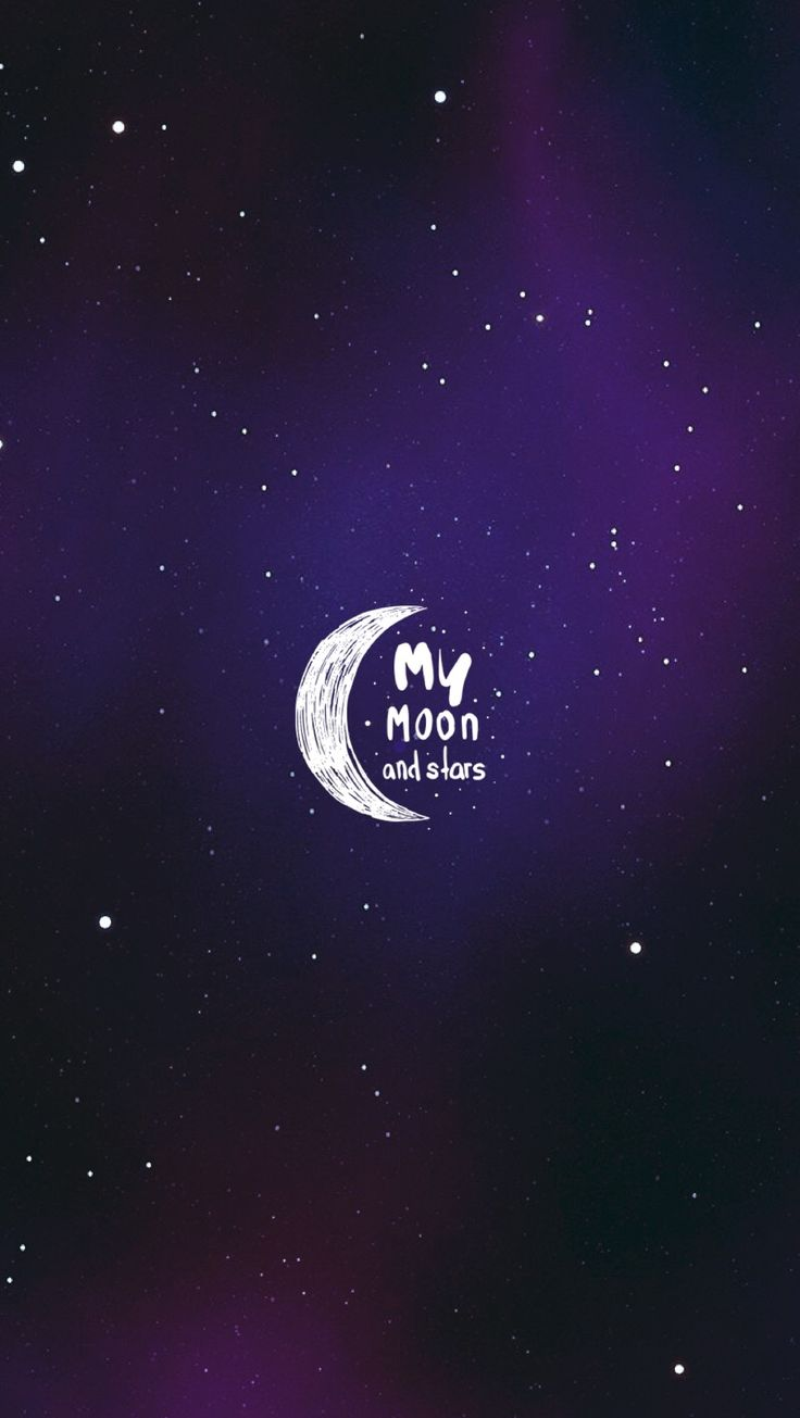 Moon & Stars #wallpaper #fondos #mobile #quote #edit by wisp⋆✧