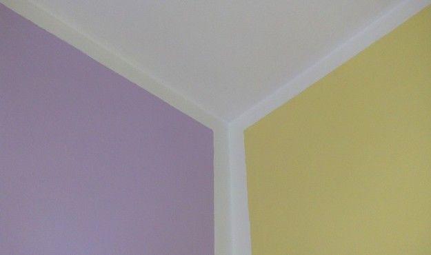 Abbinamento lilla e giallo - Il giallo e il lilla si incontrano, con il bianco come mediatore