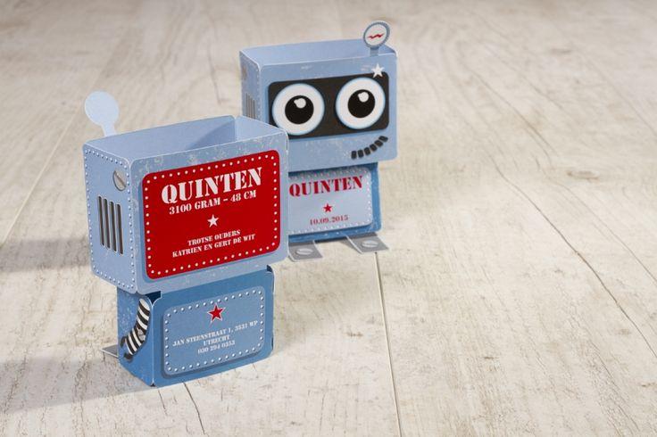Vrolijke robot