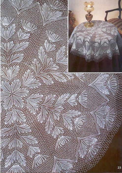 gorgeous lace tablecloth