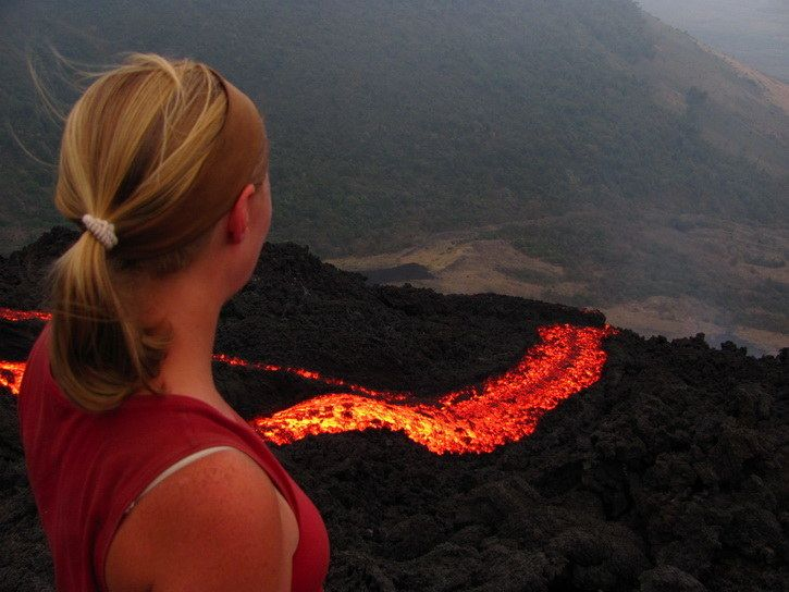 Visit an active volcano at Volcan Pacaya, Guatemala.   41 Adventures To Add To Your Bucket List