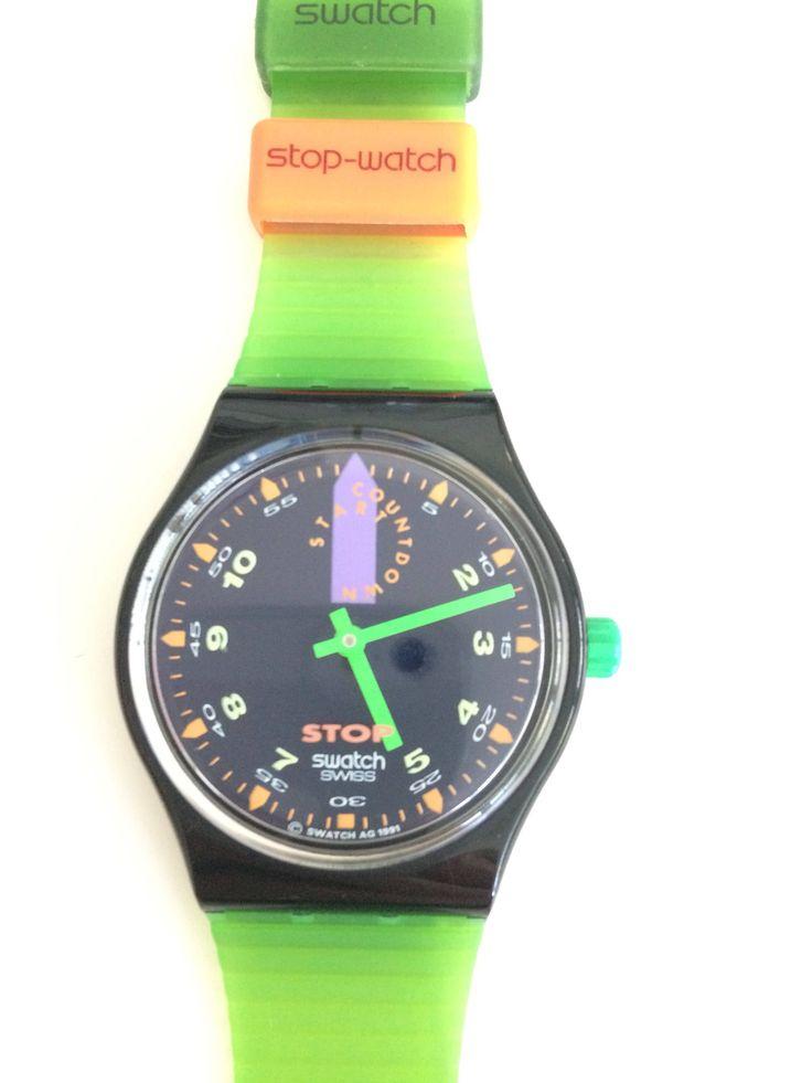 Een persoonlijke favoriet uit mijn Etsy shop https://www.etsy.com/nl/listing/561449795/swatch-start-stop-horloge-vintage-dames