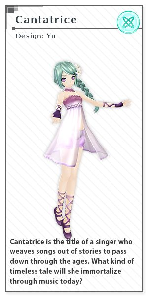 Cantatrice   Design: Yuu