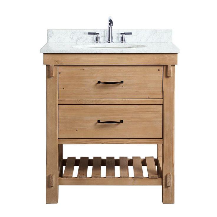 Wood Bathroom Vanity, 30 Bathroom Vanity With Top