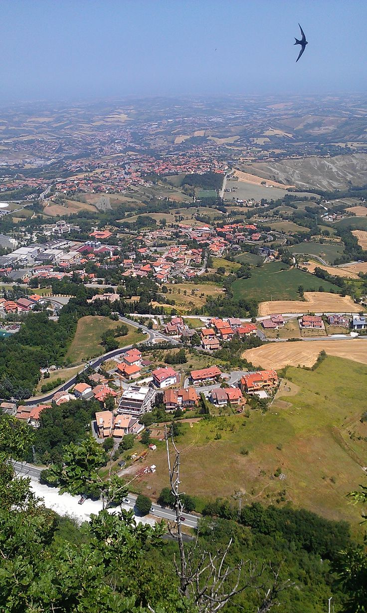 through my eyes from the top of San Marino