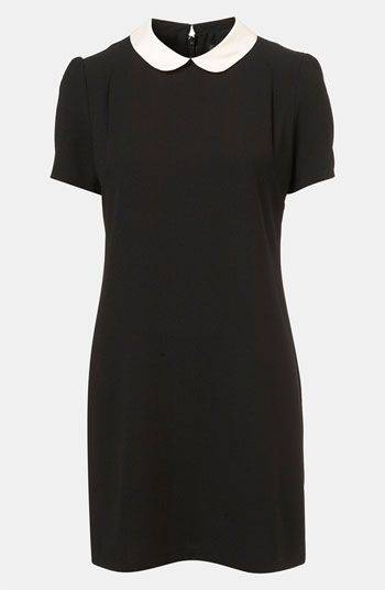 Topshop Contrast Collar shift Dress worn to Child Bereavement UK March 19, 2013