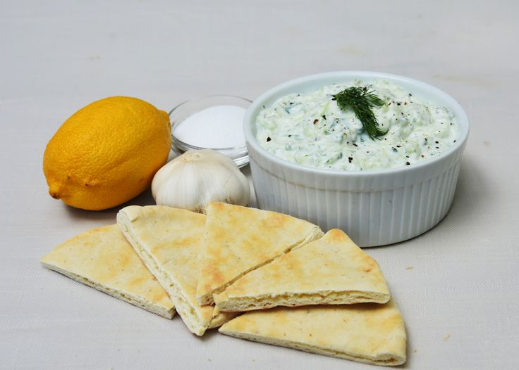 Have you tried the Mediterranean Platter at Stacey's Ojai Coffee Roasting Company? Amazing dish. What makes it amazing to me is the Tzatziki she makes fresh daily. Tzatziki, you say. What's Tzatzik…