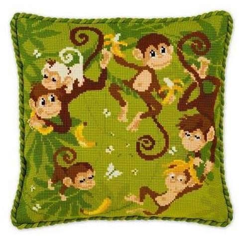 Подушка для вышивания Риолис 1534 Джунгли