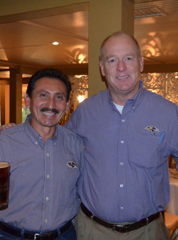 Longtime board members Luis Villafania, owner of Advanced