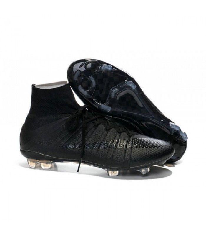 Acheter Nouveau Chaussure de Football Nike Mercurial Superfly CR FG Noir pas cher en ligne 114,00€ sur http://cramponsdefootdiscount.com