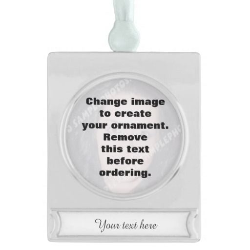 Personalized photo Christmas ornament. DIY #Christmas #ornament #photoornament #DIY