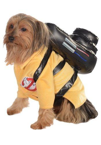 Ghostbusters Jumpsuit pet costume #halloween #dog