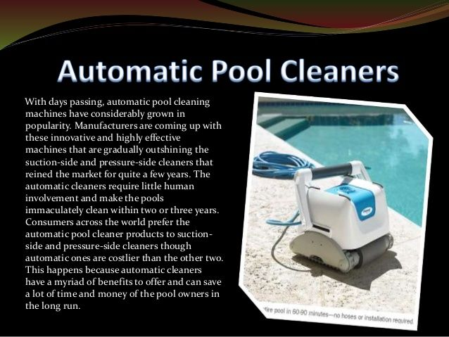 The 10 Best Inground Pool Cleaner Buying Guide Pool Cleaning Automatic Pool Cleaner Best Automatic Pool Cleaner