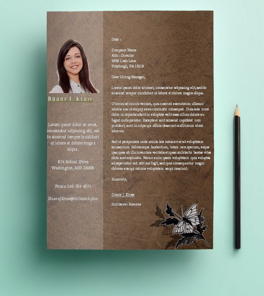 1000+ Images About Resume Template Microsoft Word On