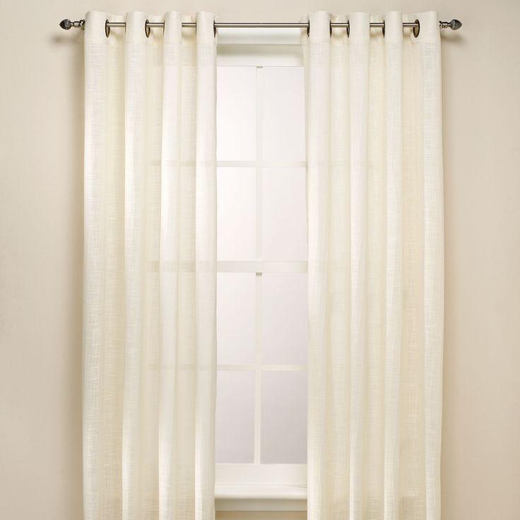 B Smith Origami Grommet Window Curtain Panels
