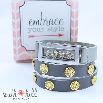 It's back in stock the South Hill Designs Locket Bracelet. Get it before it sells out again.