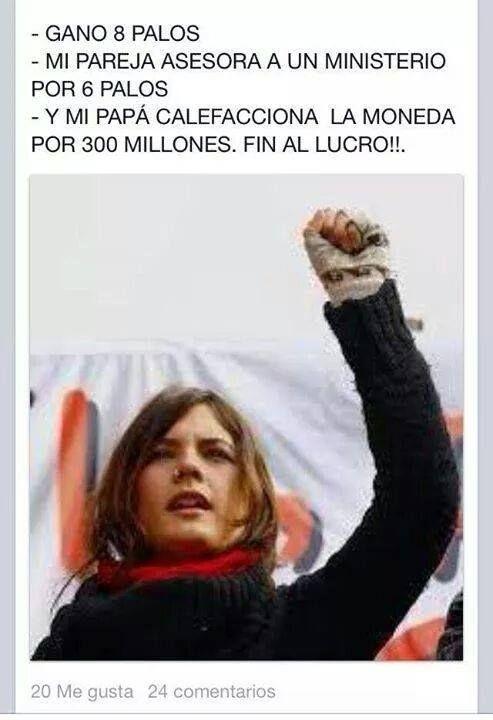 Camilita Vallejo!