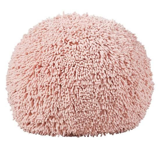 pink shaggy pouf for the children pinterest shaggy playrooms and nursery. Black Bedroom Furniture Sets. Home Design Ideas