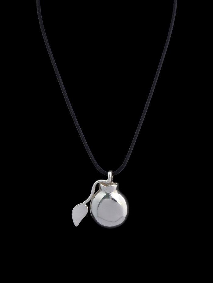 #silver #bomb #pendant #finejewellery #jewellery