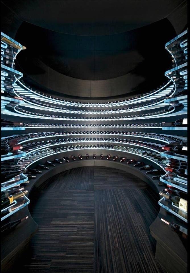 Pretty cool #wine cellar! #WineWednesday