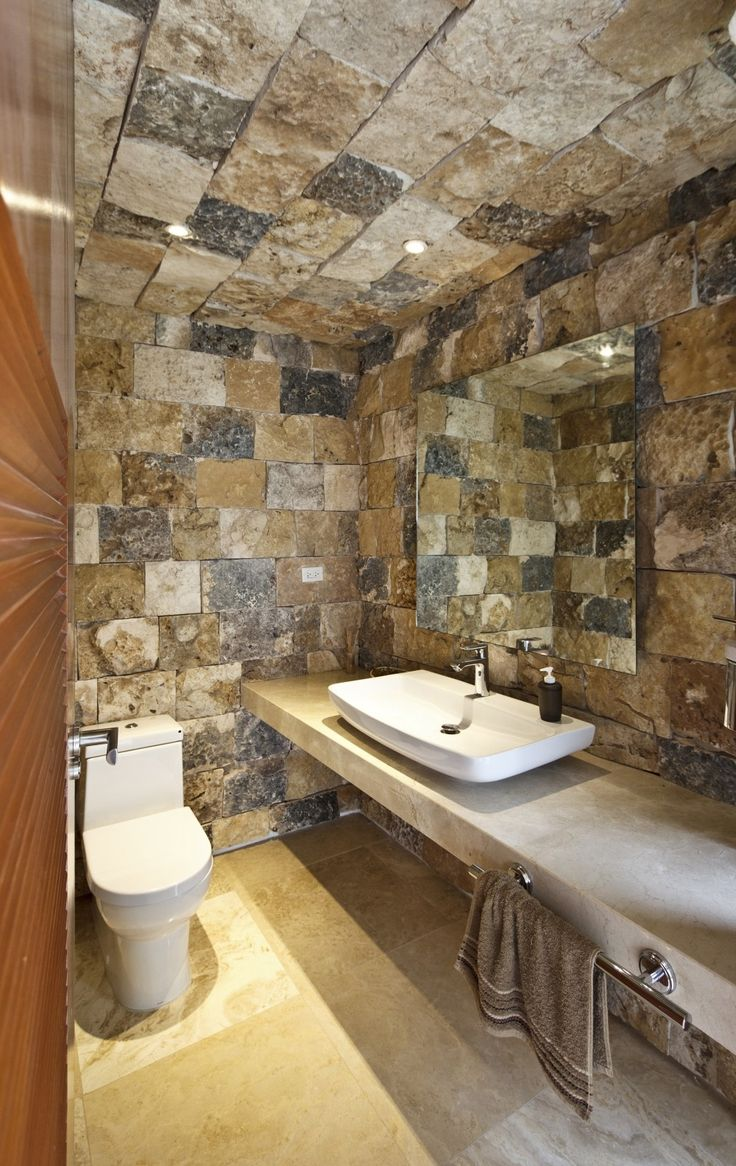 Rustic master bathroom with log walls amp undermount sink zillow digs - Rustic Country Bathroom Designs Modern Double Sink Bathroom Vanities