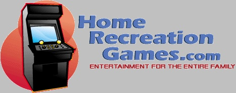 Home game room arcade games and game room accessories for sale including video arcade games, pool tables, air hockey tables, foosball tables, bubble hockey, jukeboxes and more. Home game room accessories include game room furniture, neon signs, clocks, soda machines and more. Everything needed to completely equip your home game room.