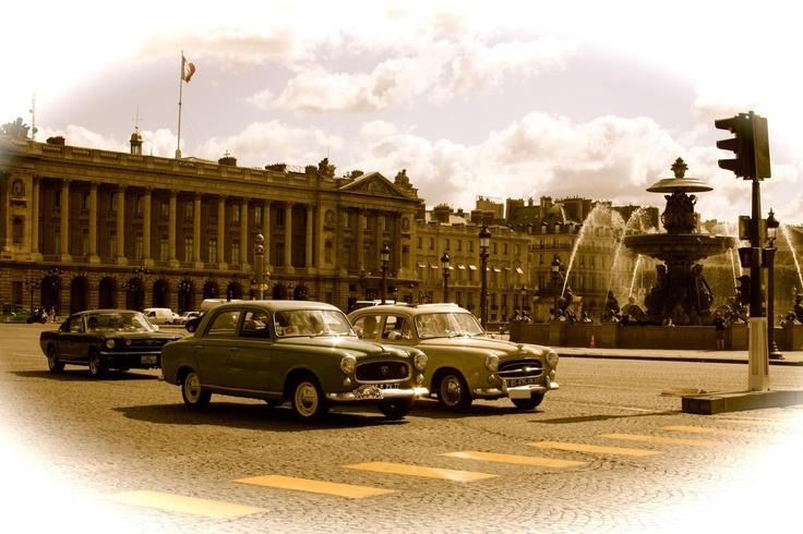 Paris vintage style in 2012.