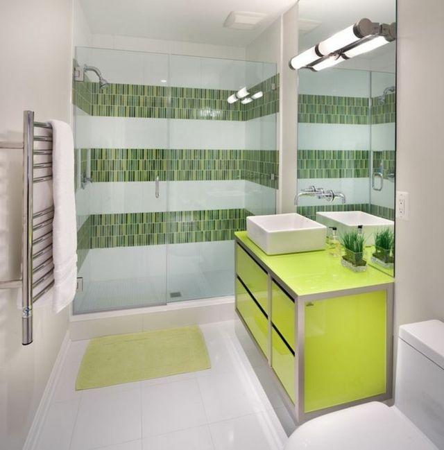 Les 25 meilleures idées de la catégorie Chaux verte salles de ...