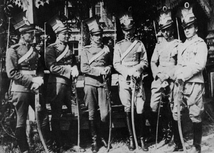 gdfalksen:  Polish cavalry, First World War.