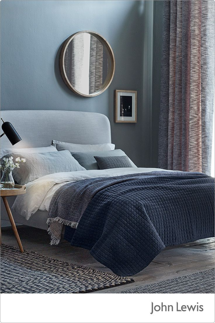 However you sleep, sleep well. Discover all you need to create a serene bedroom space with a sumptuous duvet and tactile throws. Introduce soft lighting and cosy rugs to create a sleep sanctuary.