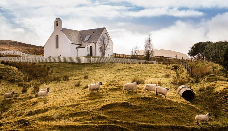 Remote Isle of Skye Cottage in Scotland, Supernova