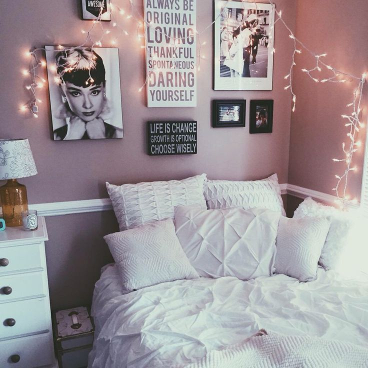 Cute Bedrooms Pinterest Decoration best 25+ bedroom decor lights ideas on pinterest | cute room ideas