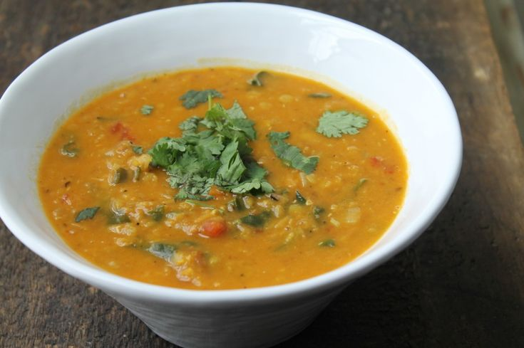 ... Red Lentil & Swiss Chard Soup With Coconut Milk - Health Is Happiness