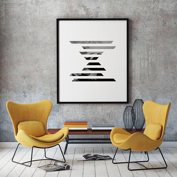 Minimalist Poster Geometric Poster Art Minimalist Geometric
