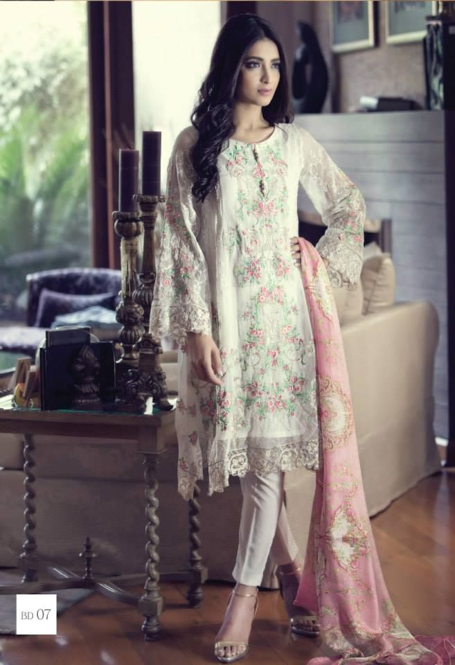 Maria B Eid Mbroidered & Luxury Lawn Collection 2015-2016 | StylesGap.com