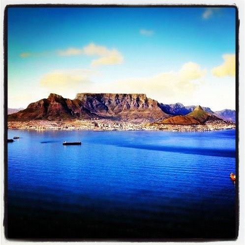 Love this image - Love my home - Cape Town!