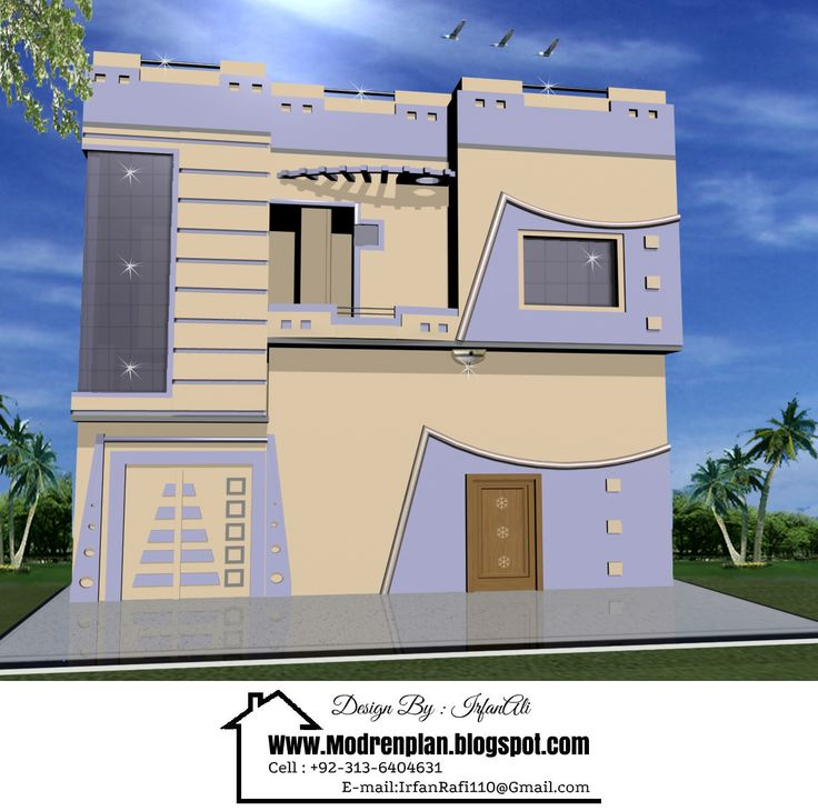 15 best architect front elevation house design images for Indian house models for construction