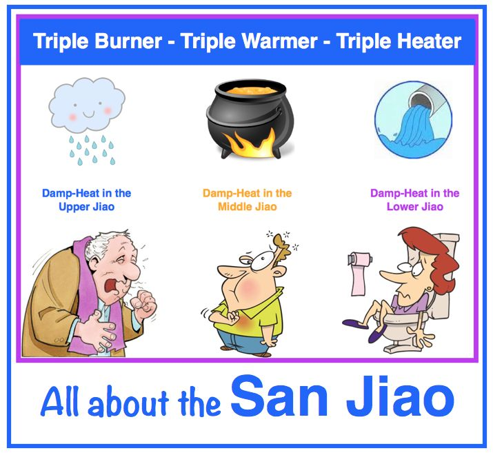 The mysterious and controversial San Jiao. The so called Triple Warmer, Burner, Heater, or even Energizer. It's not an organ, it's not a system, but in acupuncture, the San Jiao meridian rocks! It has been compared to the Lymphatic system, and it's often difficult to grasp its real function. Simply put, the