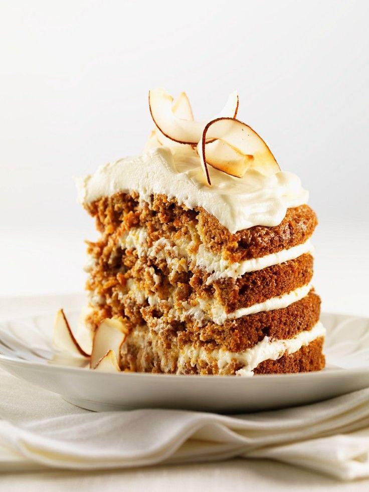 Kokos-Karotten-Torte - smarter - Zeit: 1 Std. | eatsmarter.de