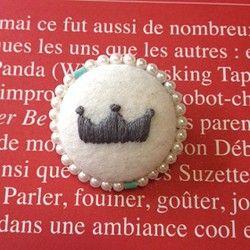 王冠ボタン