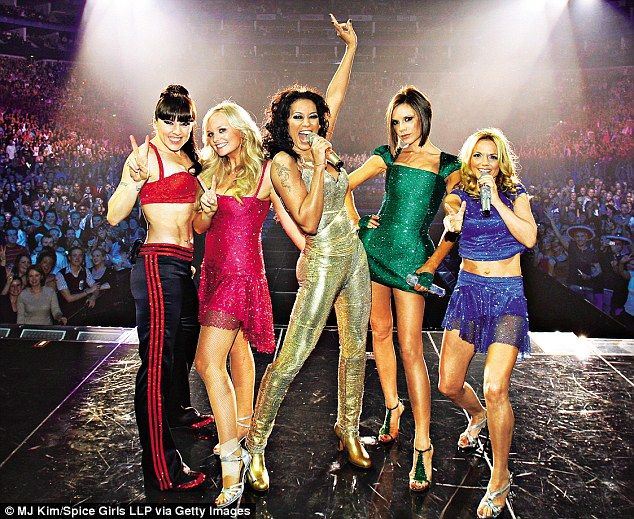 'I was 100 per cent fearless. If we'd listened to other people, things wouldn't have happened,' Geri said of The Spice Girls (pictured: reunited with the band in 2007): http://www.dailymail.co.uk/home/event/article-3221171/Geri-Halliwell-marrying-F1-boss-Christian-Horner-perfect-housewife.html