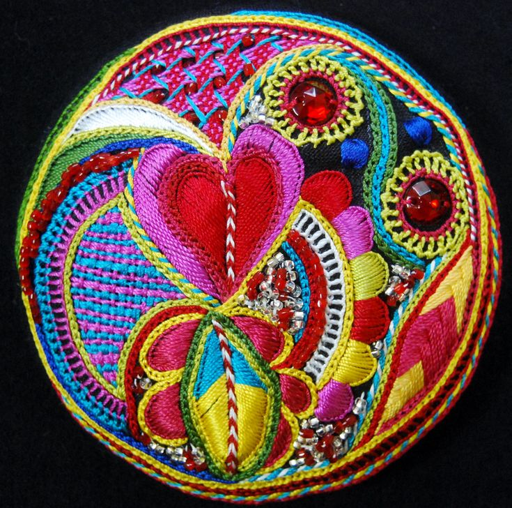 Embroidery by Pascal Jaouen from Brittany - France -