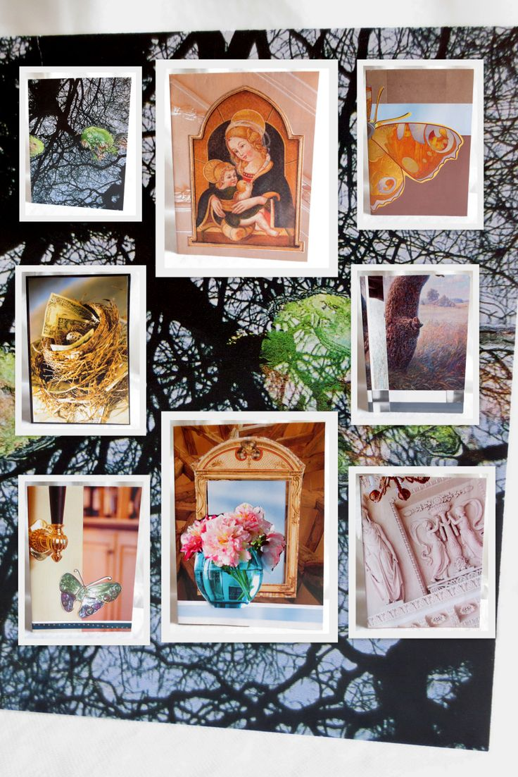 GREETING CARDS or How to Recycle Old Magazines http://greenoffon.com/green_gallery/14009